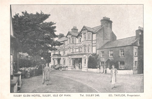 Sulby Glen Hotel in the 1920s
